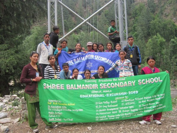 54 students from Bal Mandir secondary School